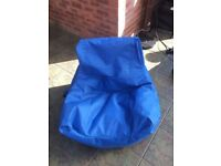 Teenager Beanbag - Blue (Argos Item 544/2405)