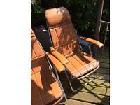 Maule marga Italian retro garden recliners