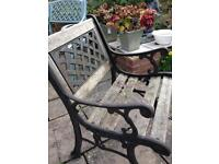Used garden chair (in need of restoring) ideal project