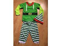 Elf suit Child age 7-8