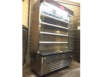Display dairy chiller, interlevin commercial fridge for drinks and foods nearly new!!