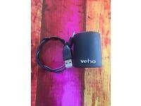 Veho VSS-006-360BT - 360° M3 Portable Bluetooth Speaker - Black - Wireless Speaker - Iphone/Ipod/MP3