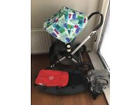 Bugaboo Cameleon Pushchair, Limited Edition Hood, Seatliner, Carrycot & Raincover