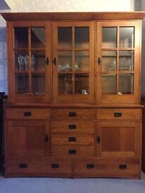 Oak Dining Sideboard / Dresser