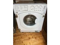 Integrated Hot point washer dryer