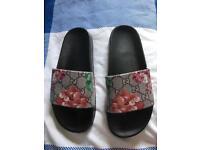 Gucci slides slippers size 6uk