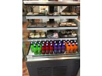 Open display cake fridge