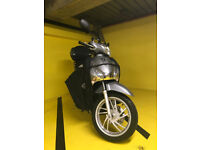 Honda SH125 ABS - immaculate, low mileage, FSH, Puig screen, top box and Tucano Urbano cover