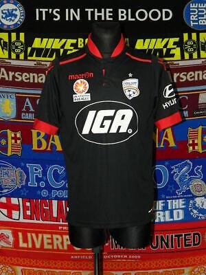 4.5/5 Adelaide United adults M 2016 away football shirt jersey trikot image