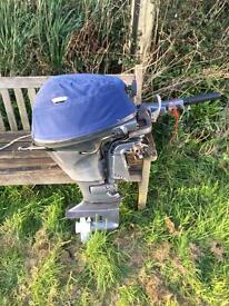 20hp Yamaha Four stroke short shaft outboard