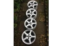 Alloy wheels X4