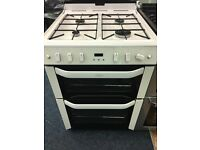 BELLING 60CM ALL GAS COOKER IN WHITE
