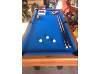 6x3 Foot Pool Table (like new)
