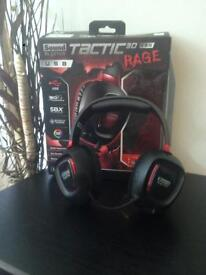 Creative Tactic3D Rage USB Gaming Headphones (v2.0) PS4 PC & Mac
