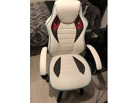 X-Rocker Leather look Gamers Chair almost new
