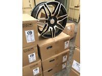 "4 19"" alloy wheels alloys rims tyre tyres vw Volkswagen seat Skoda audi Mercedes viano Vito"