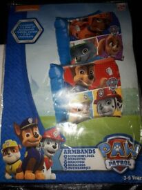 Brand New Paw patrol armbands