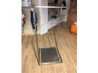 Ex-Retail Free Standing Silver Gondola For Sale - Several Available