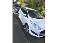 Ford Fiesta zetec s 1.0 litre eco boost WHITE