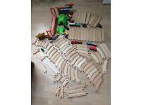 Wooden train trrack - Brio compatible