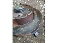 Iveco Daily front wheel hub with bearing inside