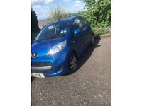 Peugeot 107 2010 low miles - great beginners car or elderly due to insurance, tax, fuel consumption