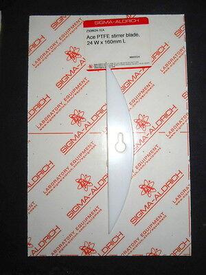Ace Glass 24mm X 160mm Ptfe Stirrer Blade For 10mm Shafts And 22l - 72l Flasks