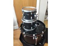 Yamaha Rock Tour 4 Piece Shell Drum Kit Black