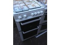 White Gas cooker 50cm..,...Cheap free delivery