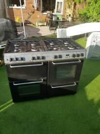 New World 110df range cooker