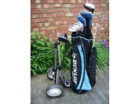 Right Handed Golf Clubs. . . Ideal for a Beginner