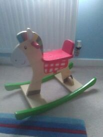Small toddler rocking horse.