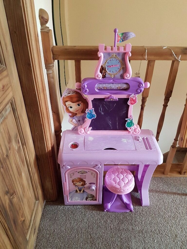Sofia The First Dressing Table In Canton Cardiff Gumtree