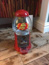 JELLY BELLY BEAN MACHINE vintage style coin operated