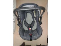 Silver Cross 3D Isofix Base and Car Seat
