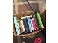 Assortment of books. Approx 27 includes novels, cook books, sports, etc etc. ideal car booter