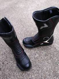 Motorbike boots size 10