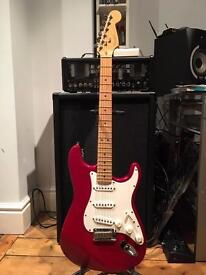Fender 1995 American Standard Stratocaster - Candy Apple Red - Can Deliver!