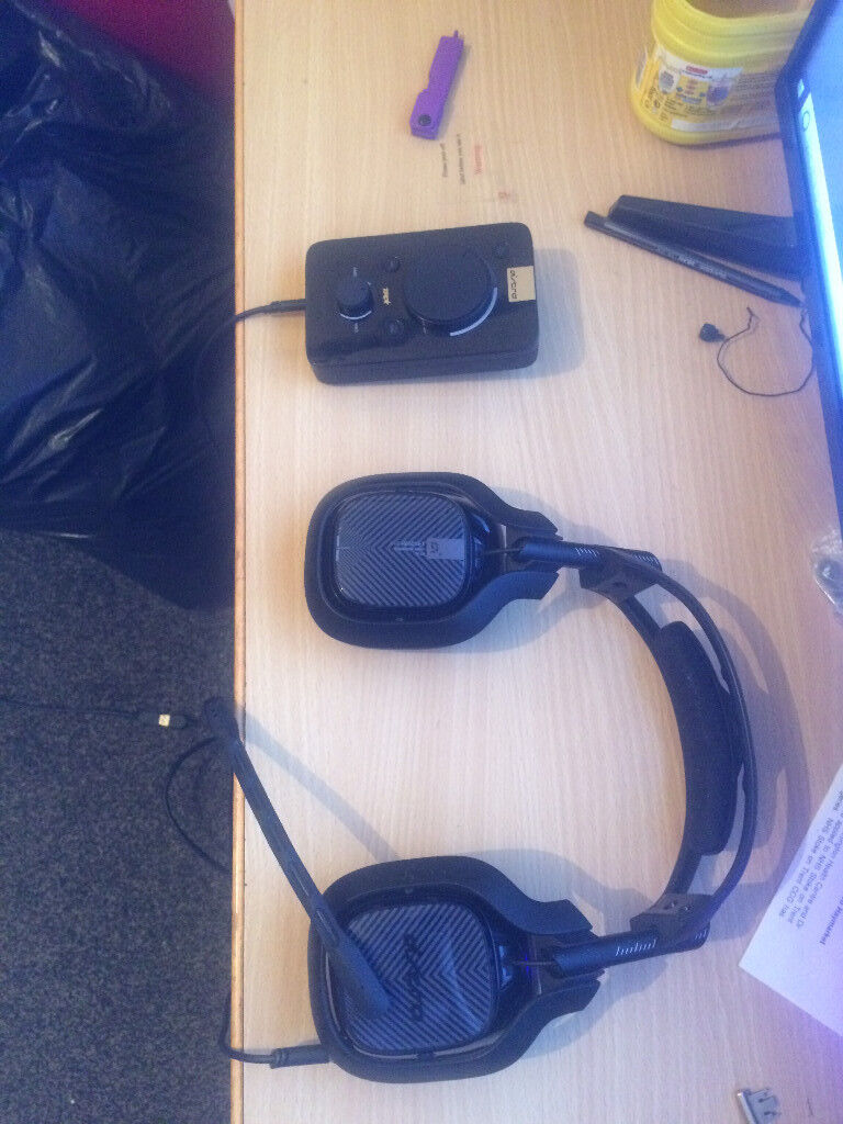 Astro A40 TR + Mixamp Ps4/Ps3/Pc | in Stoke-on-Trent, Staffordshire |  Gumtree