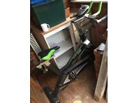 Elevation fitness 18KG flywheel spin bike