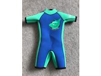 Team Magnus 5mm Short Kids Wetsuit - 3/4 Years