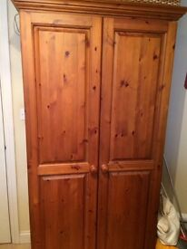 HOUSE CLEARANCE- Solid Pine Wardrobe