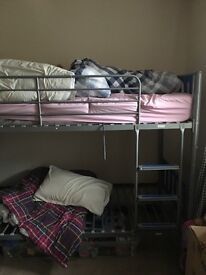 Free - bunk beds with one mattress