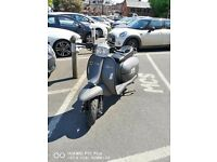 Scomadi TL125 Matte Grey Scooter Excellent Condition