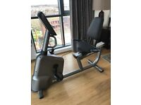 LifeCycle Recumbent exercise bike for sale