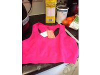 NEW WITH TAGS SOFT BRA TOP SIZE 14/16