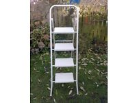 "NICE SOLID STEP LADDERS FOR SALE (APPROX 4FT7"" HIGH). COULD DELIVER."