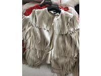 River island frindge jackets