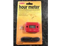 Motor hour meter tacho