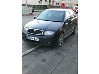 SKODA FABIA VRS *very low miles* sale or swap